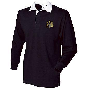 første East Anglian regiment-lisensiert britiske hæren brodert langermet rugby skjorte