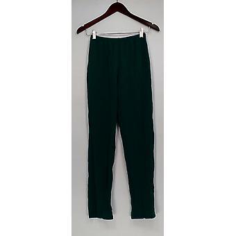 Susan graver vrouwen ' s broek XXS Essentials Lustra brei groen A285514