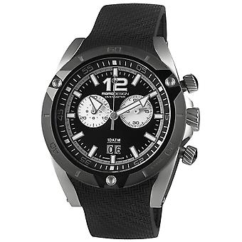 Momodesign dive master city Quartz Analog Man Watch with MD282SB-31 Rubber Bracelet