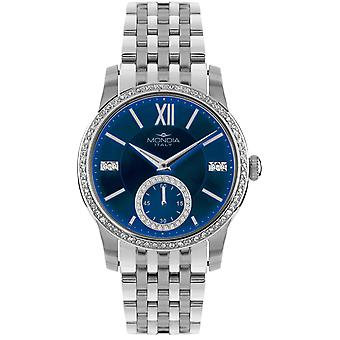 Mondia madison lady Japanese Quartz Analog Women Watch with MI741-4BM Stainless Steel Bracelet