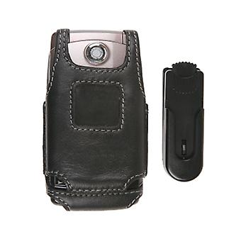 Swivel Belt Clip Leather Case for LG UX380 AX380 WAVE