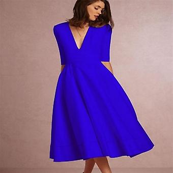 Long Dress A Line Party High Waist  Dress