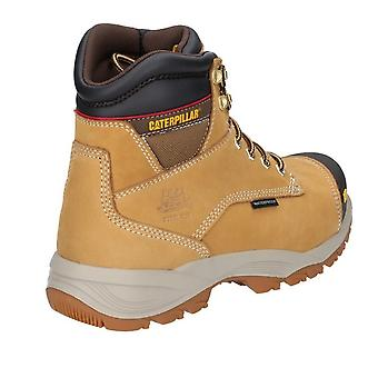 Caterpillar Mens Spiro Lace Up Waterproof Leather Safety Boot
