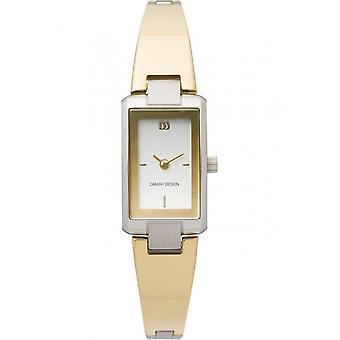 التصميم الدنماركي - ساعة اليد - السيدات - IV65Q865 الفولاذ المقاوم للصدأ