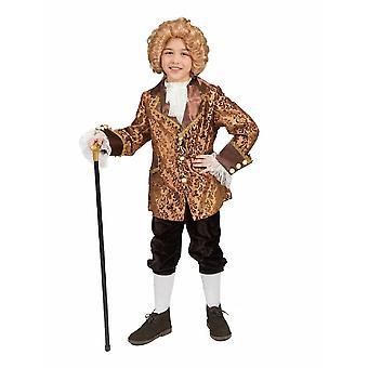 Barokki Bartoli poika lasten puku Conte Amadeo lapsi poika Rococo barokki Graf Monsieur lasten puku karnevaali