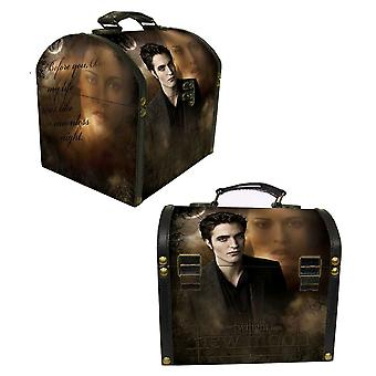 Twilight Saga New Moon Vintage Carrying Case Edward & Bella