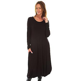 Capri Black Dress SLL02
