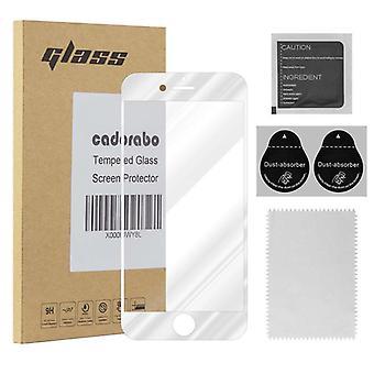 Cadorabo Vollbild Panzer Folie für Apple iPhone 6 PLUS / iPhone 6S PLUS  - Gehärtetes (Tempered) Display-Schutzglas in 9H Härte mit 3D Touch Kompatibilität
