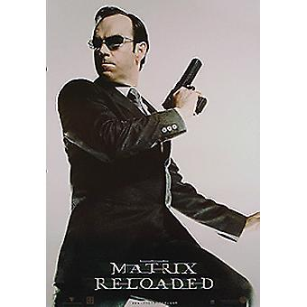 The Matrix Reloaded (Single Sided Reprint Agent Smith Full Body) Reprint Poster