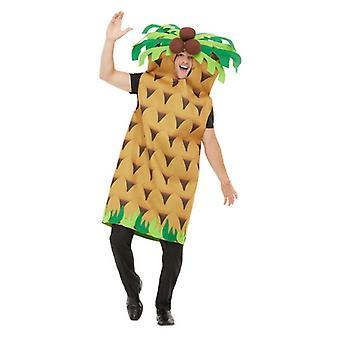 Herren Palm Tree Fancy Kleid Kostüm (One Size)