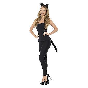 Erwachsene Katze Kit Fancy Dress Zubehör