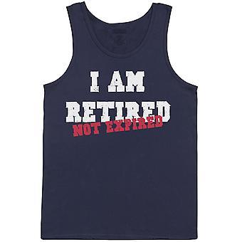 I Am Retired - Not Expired - Mens Vest
