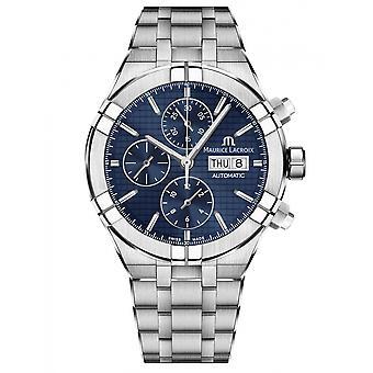 Maurice Lacroix AI6038-SS002-430-1 mannen ' s aikon chronograaf automatisch horloge