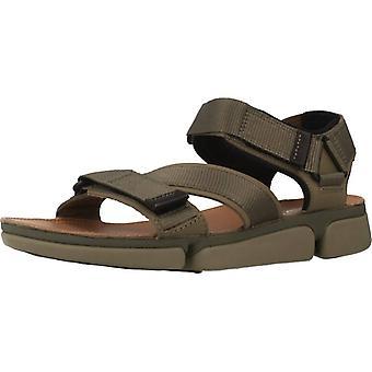 Clarks sandalen 26139564 kleur Olive