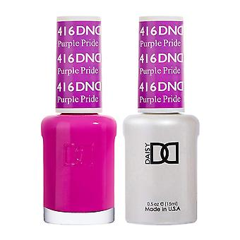 DND Duo Gel & Nail Polish Set - Purple Pride 416 - 2x15ml