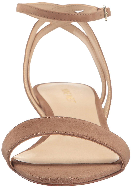 Nine West Women's Lewer zamszu Wedge Sandal L2b7M