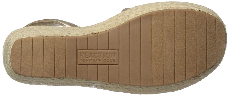 Kenneth Cole reaktion kvinder ' s fine glas espadrille platform slingback sandal...