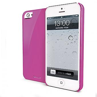Glossy Pink Case For Apple IPhone Se (2016) / 5s / 5