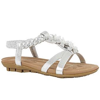 Lotus Margarita naisten tasainen sandaalit