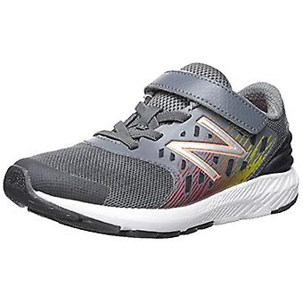New Balance Boys' Urge V2 FuelCore Running, Lead/Team Red, Rozmiar 3 X-Wide Infant