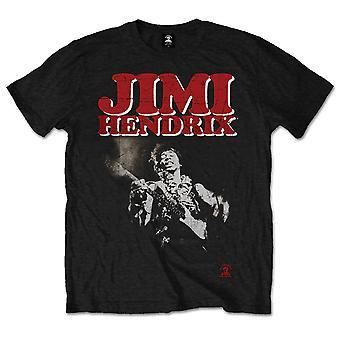 Jimi Hendrix block rock T-shirt