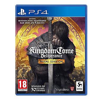 المملكة تعال الخلاص الملكي الطبعة PS4 لعبة
