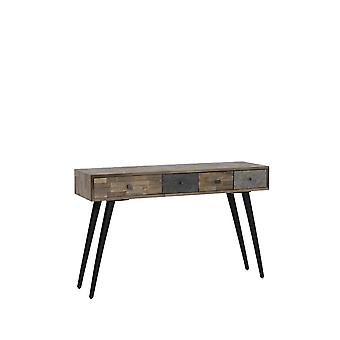 Light & Living Console 115x35x78cm Camarico Mix Wood-Matted Black