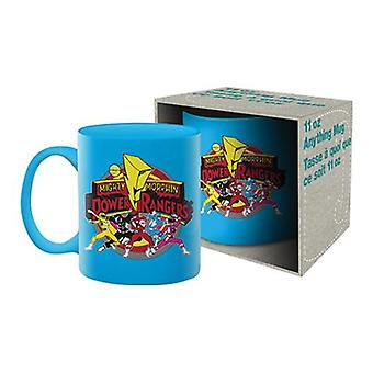 Power rangers ceramic mug