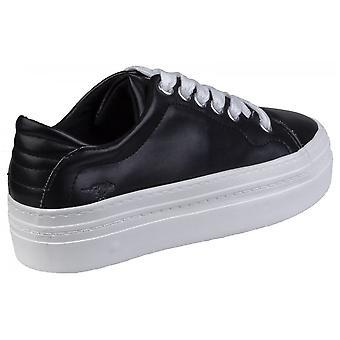 Rocket Hund Milkyway Flatform Schuh schwarz