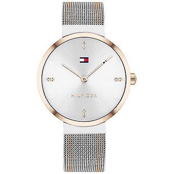 Tommy Hilfiger Liberty | Two-Tone Mesh Bracelet | White Dial | 1782221 Watch