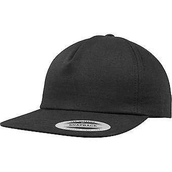 Flexfit by Yupoong Mens Unstructured 5 Panel Snapback Cap