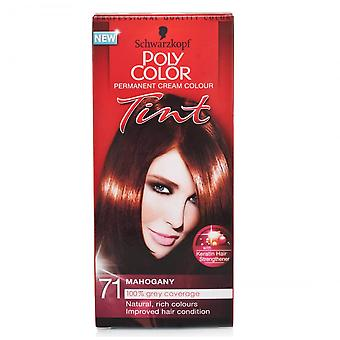 Schwarzkopf Poly Hair Color Tint - Mogno 71