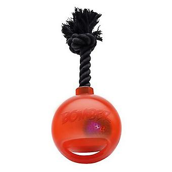 Bomber Bomb With String Orange 17cm L (Dogs , Toys & Sport , Chew Toys)