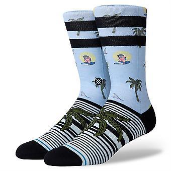 Stance Staples Men's Socks ~ Aloha Monkey St