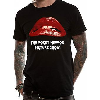 The Rocky Horror Picture Show Unisex Adults Lips Design T-Shirt