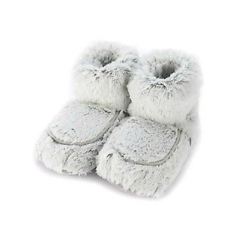 Warmies Grey Marshmallow Boots