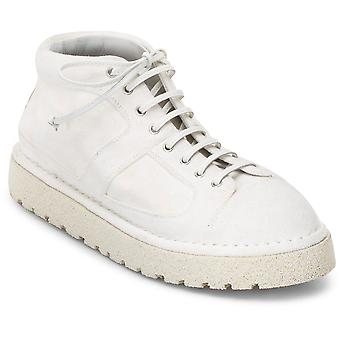 Marsell Sancrispaaltapomice Women's White Leather Sneakers