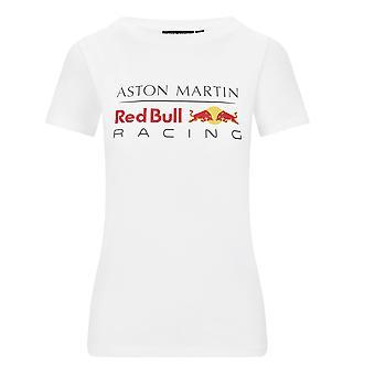 Aston Martin Red Bull Racing Women's Large Logo T-shirt | White | 2020