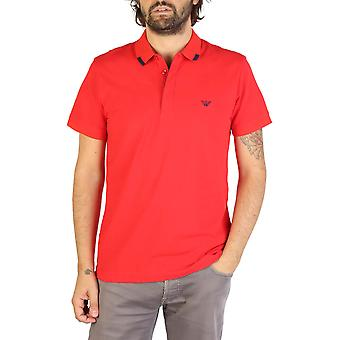 Emporio Armani Original Men Spring/Summer Polo - Red Color 35512