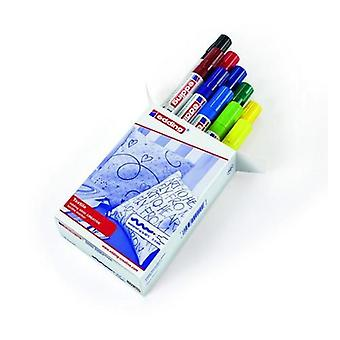 edding-4500. cr marcador textil-básico 10PC 2-3 mm / 4-4500999