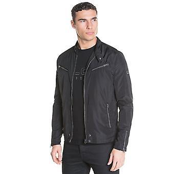 Polizei Hereford Multi Zip Tasche leichte Jacke - Schwarz
