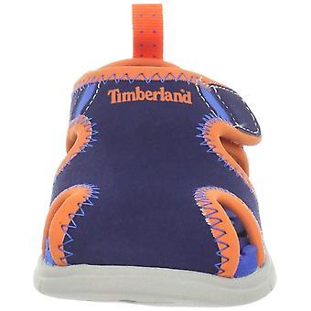 Kids Timberland Girls TIMBERLAND LITTLE HARBOR SANDAL stofftrekk på Slide sa...