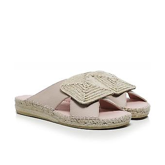 Macarena Chipre4 Open Toe Leather Sandals