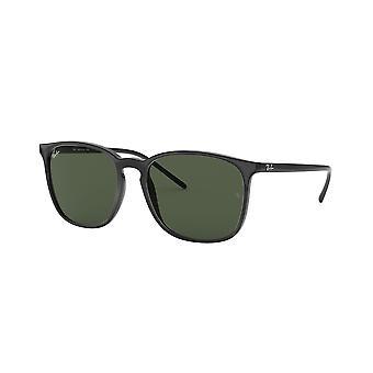 راي بان RB4387 601/71 النظارات الشمسية السوداء / الخضراء