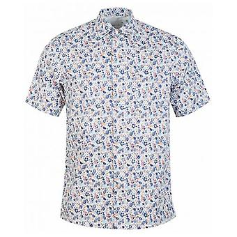 Paul Smith Short Sleeved Floral Shirt