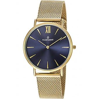 Radiant new diary Quartz Analog Woman Watch with RA377606 Gold Plated Stainless Steel Bracelet