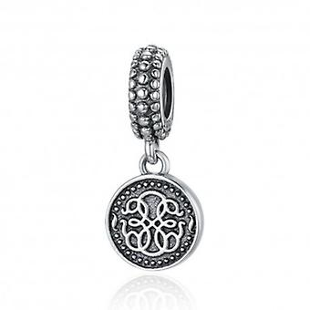 Sterling Silver Pendant Charm Symbol Of Life - 5895