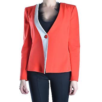Armani Collezioni Ezbc049142 Damen's Rote synthetische Fasern Blazer