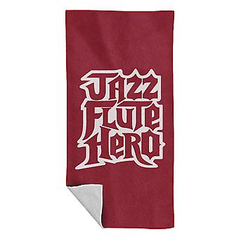 Anchorman Jazz Flute Hero Guitar Hero Beach Towel