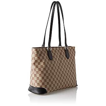 piero drive Tote Bag Shoulder bag Women (Black) 35x28x14 cm (W x H x L)